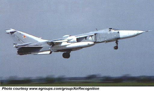 Sukhoi SU-24 Fencer - CombatAircraft com