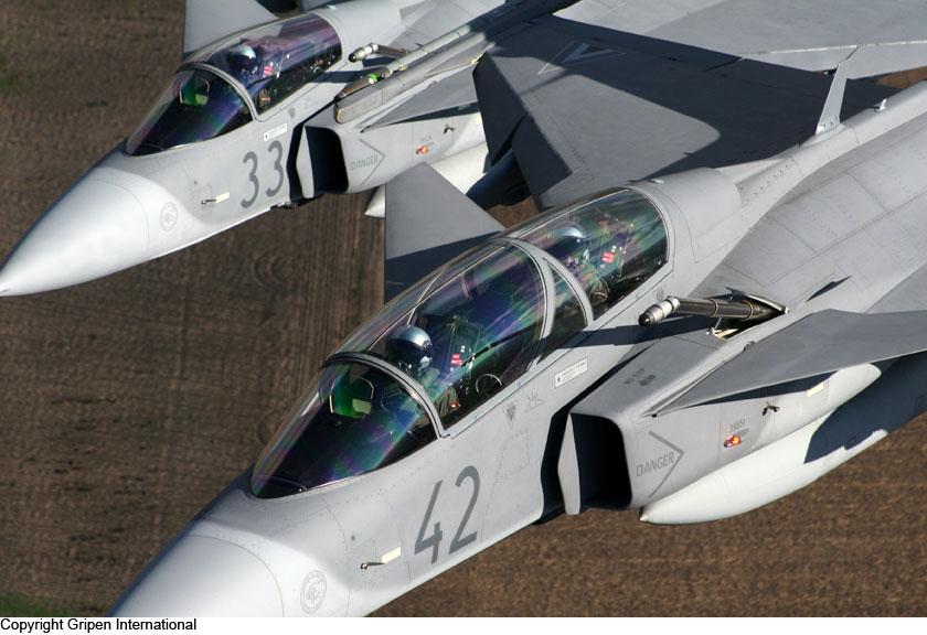 SAAB JAS 39 Gripen - CombatAircraft com